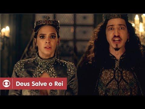 Deus Salve O Rei: capítulo 68 da novela, quarta, 28 de março, na Globo