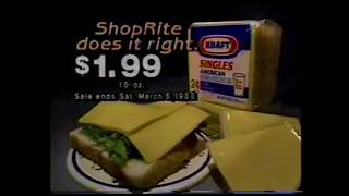 Shop Rite Does it Right 1988