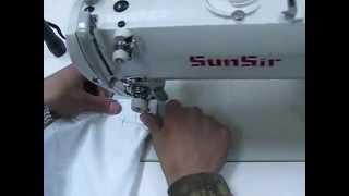 Прямострочная швейная машина с автоматическими функциями SUNSIR