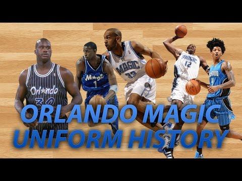 NBA Uniform History   Orlando Magic