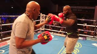 IS THIS THE MAN TO DERAIL ANTHONY JOSHUA!? CARLOS TAKAM OFFICIAL PUBLIC WORKOUT / JOSHUA v TAKAM