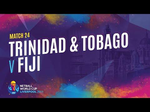 Trinidad & Tobago v Fiji | Match 24 | NWC2019