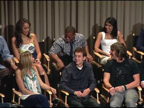 Greek  The Cast on  Encounters Paley Center