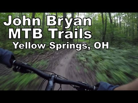 Riding Powerline & Abracadabra | John Bryan State Park | Yellow Springs, OH