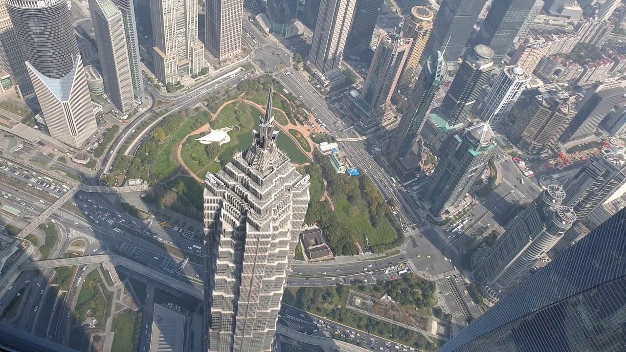 上海中心大廈-2 俯瞰上海全景 2019/3/12 - YouTube