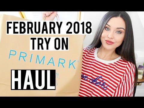 TRY ON PRIMARK HAUL FEBRUARY 2018 | KatesBeautyStation