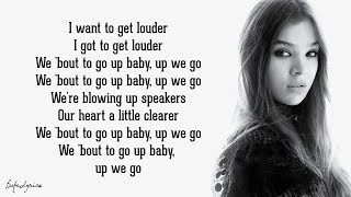 Capital Letters - Hailee Steinfeld, BloodPop® (Lyrics) 🎵