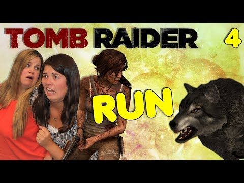 Entering the Den of the Wolf - Tomb Raider (2013) Let's Play - Part 4