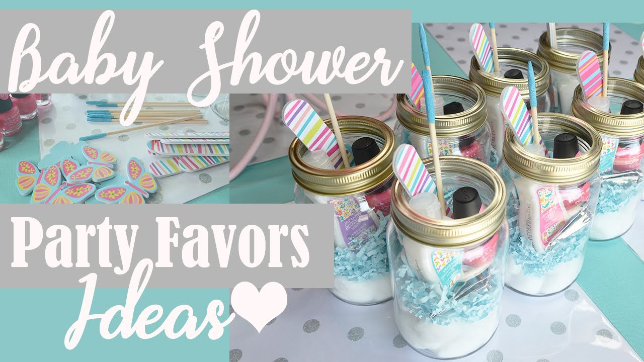 Baby Shower Party Favors Ideas Under 5 Dollar Tree Diy Youtube