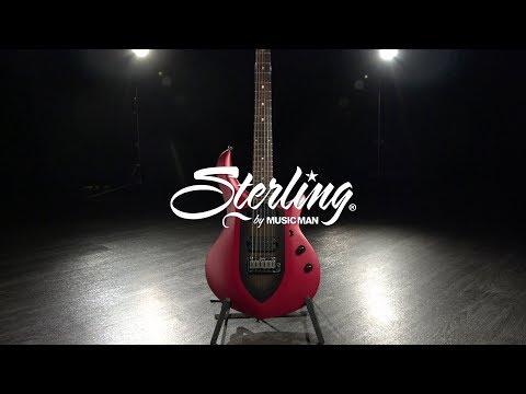Sterling by Music Man John Petrucci Majesty, Iced Crimson   Gear4music demo