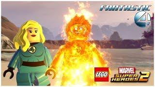 LEGO Marvel Superheroes 2 - Fantastic Four: Human Torch