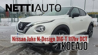 Nettiauto koeajo: Nissan Juke 2020