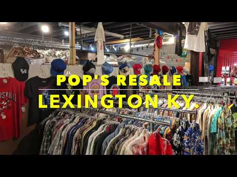Pop's Resale - Moody in the City