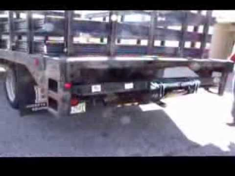 2001 CHEVY STAKE BED TRUCK for sale - $11,495 - YouTube