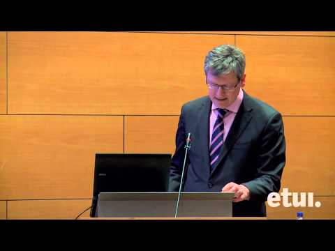 """European Commissioner Lazlo Andor keynote speech at ETUI conference """"Labour markets in the crisis"""""""