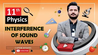 INTERFERENCE OF SOUND WAVES in URDU HD FSC Physics Book 1 Chapter 8 TOPIC 8.5