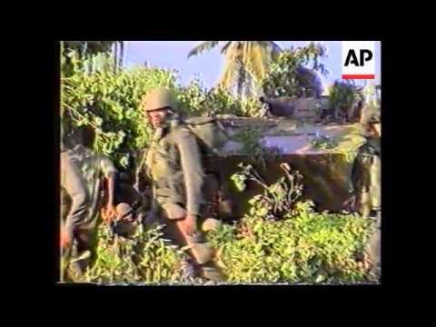 Sri Lanka - Fighting /Downed Plane Survivor