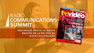 RADIO COMMUNICATIONS SUMMIT - BIENVENIDA