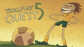Trollface Quest 5: World Cup 2014 Gameplay Walkthrough - Mopixie.com