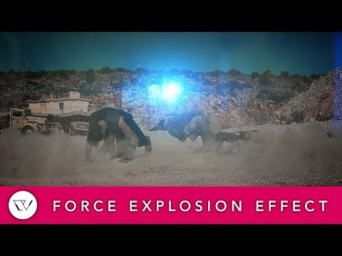 Star Wars Force Explosion Effect - After Effects Tutorial