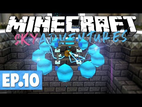 Minecraft FTB Sky Adventures – Draconic Evolution Fusion Crafting! #10 [Modded Questing Survival]