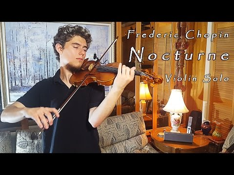 F. Chopin - Nocturne in C# minor [Violin Solo]