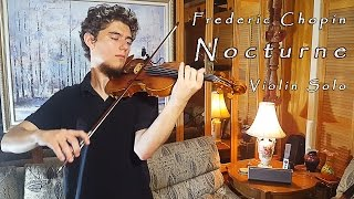 F. Chopin - Nocturne in C# minor [Violin Solo]