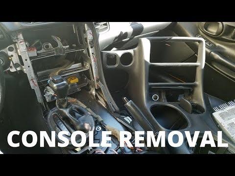 C5 Corvette Center Console Removal
