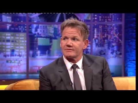 """Gordon Ramsay's Challenge To Jamie Oliver"" On The Jonathan Ross Show 19 October 2013"