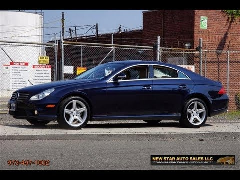 2008 mercedes benz cls class cls550 amg sedan youtube. Black Bedroom Furniture Sets. Home Design Ideas