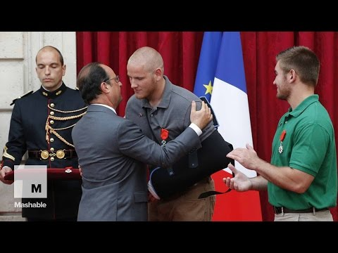 Americans And Briton Who Thwarted Train Attack Get France's Top Honor | Mashable News
