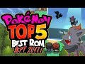 TOP 5 POKEMON GBA & NDS ROM HACKS WITH AWESOME FEATURES SEPTEMBER 2017!!