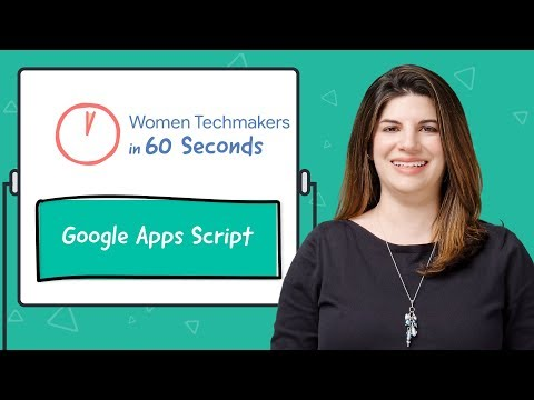 Google Apps Script in 60 seconds!