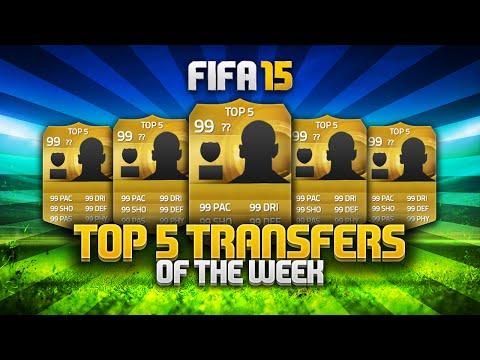 TOP 5 TRANSFERS OF THE WEEK! - WEEK 9! | FIFA 15 Ultimate Team