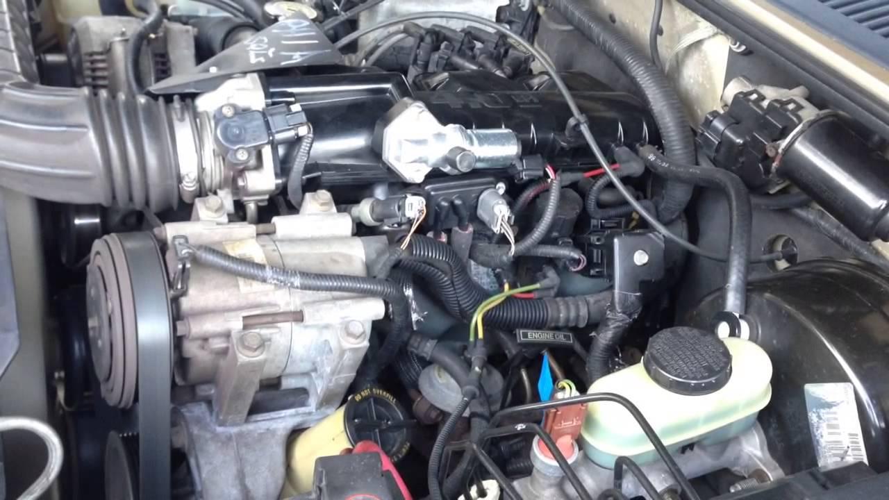 Ford 3 0 V6 Engine Firing Diagram Ford Explorer 2000 Engine Shakes Youtube
