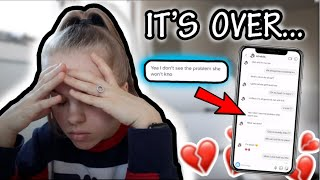 CATFISHING MY BOYFRIEND TO SEE IF HE CHEATS!!! * we broke up * 💔😓