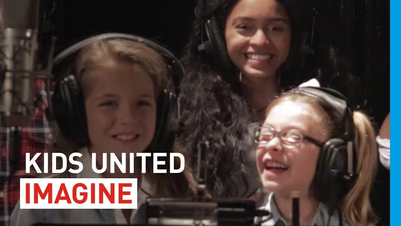 kids united pour l 39 unicef imagine lyrics en fran ais. Black Bedroom Furniture Sets. Home Design Ideas