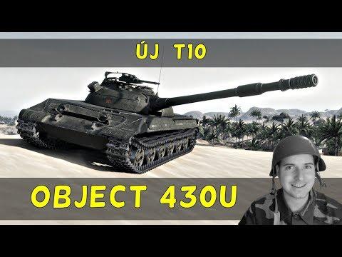 WoT - Új T10 Object 430U élesben