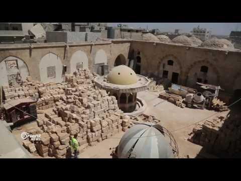 بدء ترميم المسجد العمري الأثري في مدينة الباب  - 00:21-2018 / 8 / 13