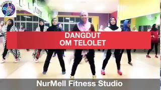 Zumba Dangdut OM TELOLET OM with Zin Nurul - Stafaband