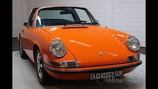 Porsche 911 T Targa 1971 Restored -VIDEO- www.ERclassics.com