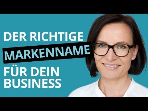 Firmennamen Finden (Einzelunternehmen) Kann Einfach Sein: 7 Tipps