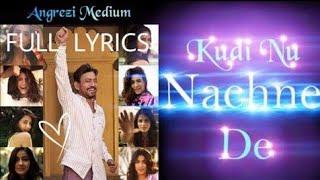 Kudi Nu Nachne De clean  Karaoke |  Vishal Dadlani | Angrezi Medium