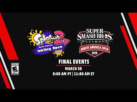 Splatoon 2 NA Inkling Open 2019 & Super Smash Bros. Ultimate NA Open 2019 Finals 3/30/2019 thumbnail