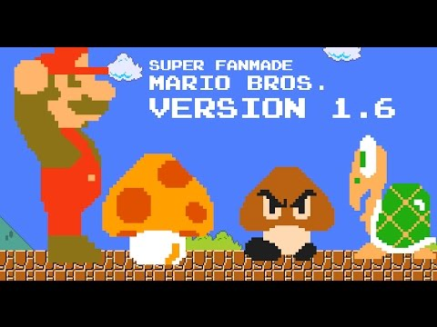 Super Mario Bros. FanGame Development ShowCase 161209