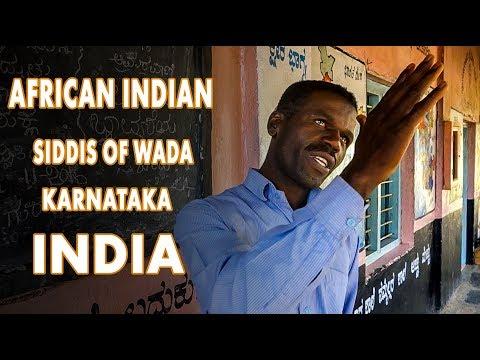 African Indian, Siddis of Wada. Karnataka, India