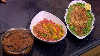 صينية سمك بلطي بالصلصة - دجاج بالكاري والرمان | الشيف حلقة كاملة