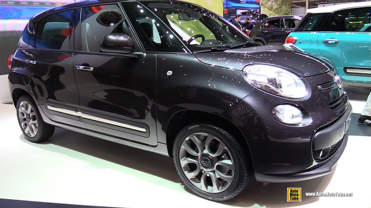 2015 fiat 500l lounge 1 4t jet 120ch exterior and interior walkaround 2015 geneva motor show. Black Bedroom Furniture Sets. Home Design Ideas