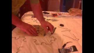 How To Build A Hdtv Coat Hanger Fractal Antenna - Detailed (step 2)