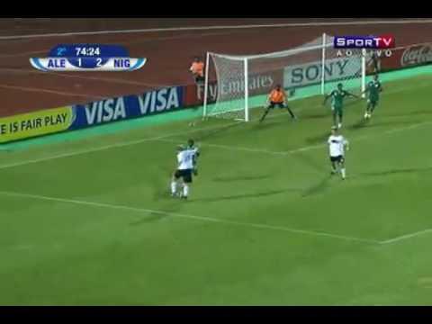 606e166345051 Os gols de Alemanha 3 x 2 Nigéria pelas oitavas de final da Copa do Mundo  Sub-20 Fifa 2009